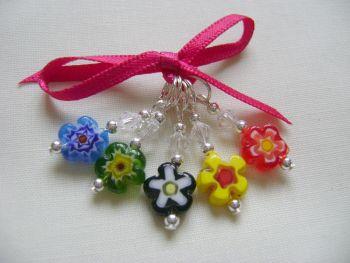 Millefiori Single Flower Daisy - small set 1