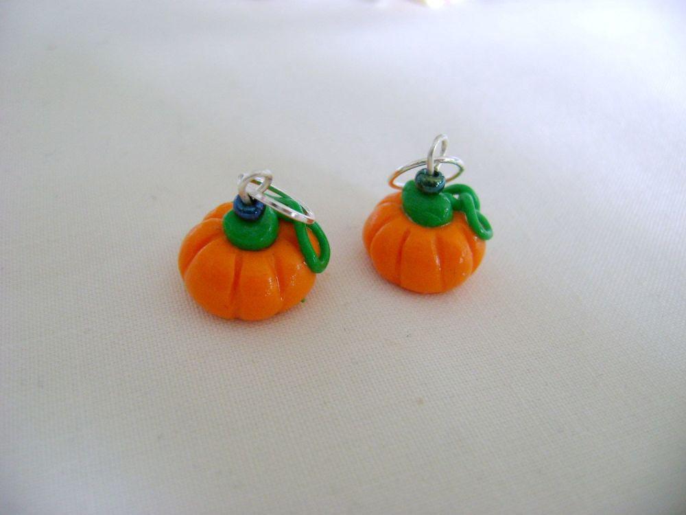 Polymer Clay Pumpkins
