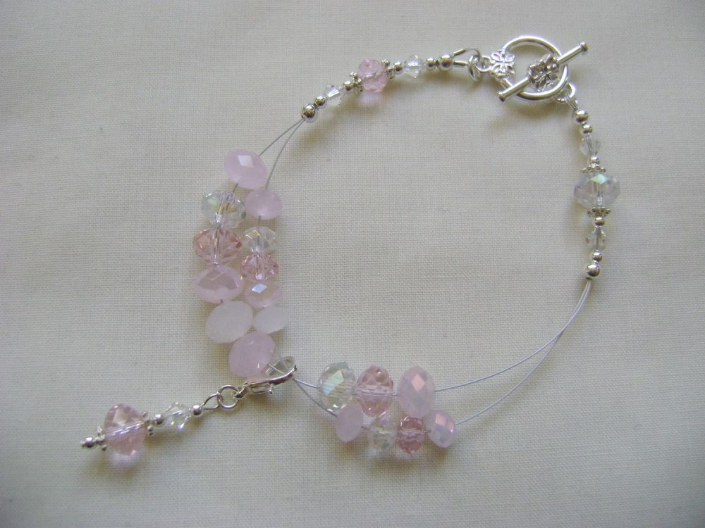 Candy Floss Row Counter Bracelet