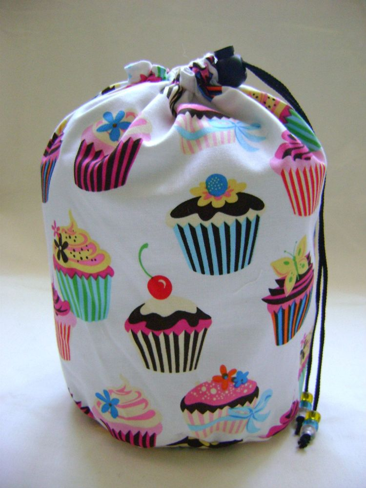 Sweet Tooth Cupcake Project Bag