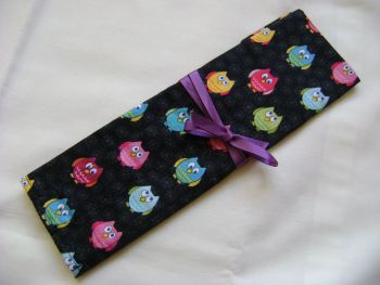 Mini Owls Needle and Hook Roll