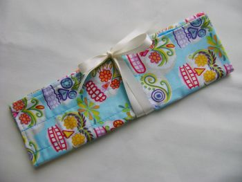 Sugar Skulls Needle and Hook Roll