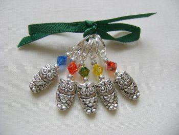 Tibetan Silver Mini Owl
