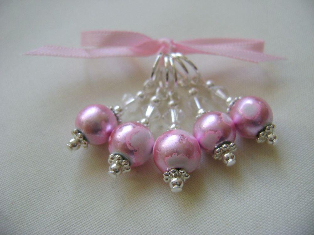 Pale Pink Art Glass