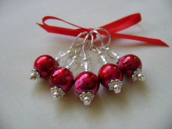 Poppy Red Art Glass