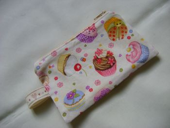 Scrummy Cupcakes Notions Pouch