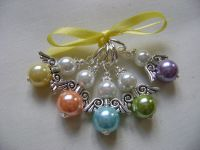 Guardian Angel Pearls - spring hues