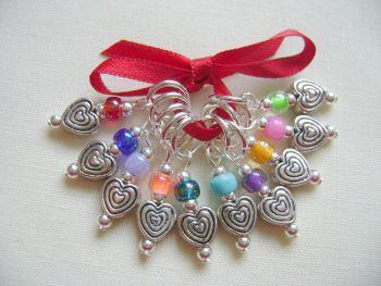 Tibetan Style Hearts