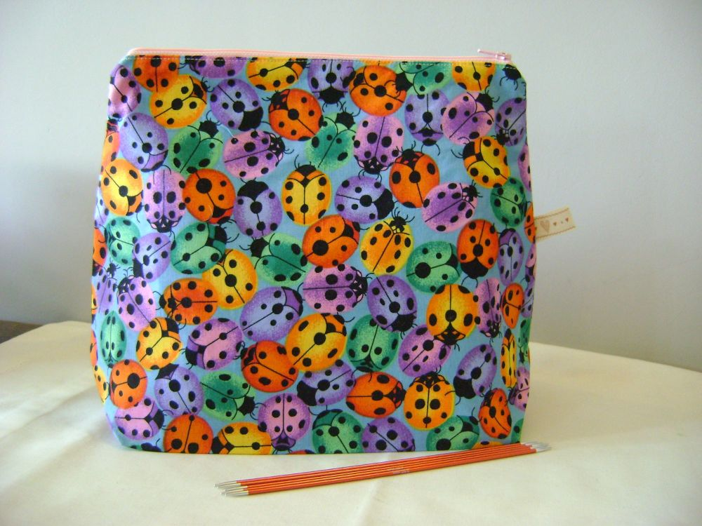 <!-- 03 -->Colourful Ladybirds -   medium size