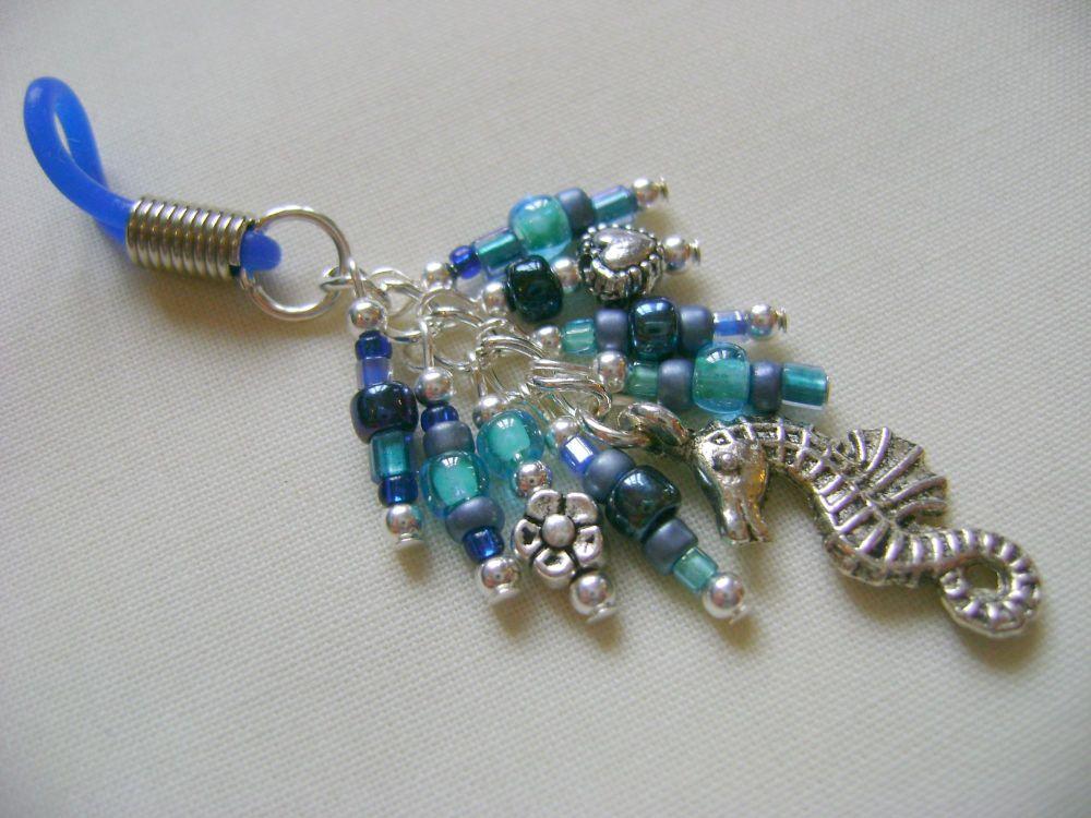 Briny Blue Seahorse