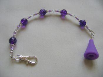 Purple Drizzle Scissor Keeper