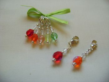 Tango Stitch Markers and Progress Keepers