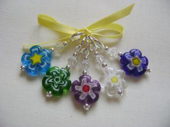 Millefiori Single Flower Daisy