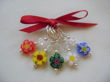 Millefiori Single Flower Daisy - small set 2