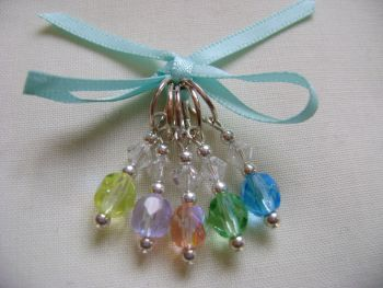 Pastel Springs Stitch Markers
