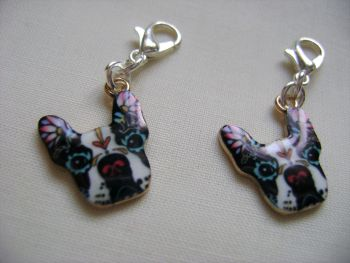 Floral Pup - set of 2