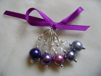 Warm Purple Pearls