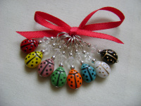 Cute Ladybird - set of 8
