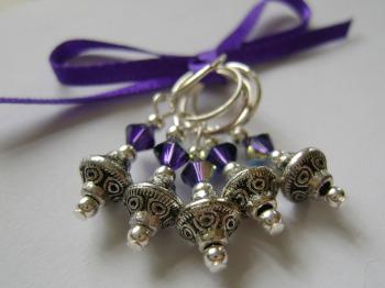 Tibetan Silver Bicone Beads