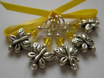 Tibetan Silver Butterflies set 2