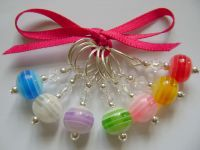 Rainbow Stripe Stitch Markers