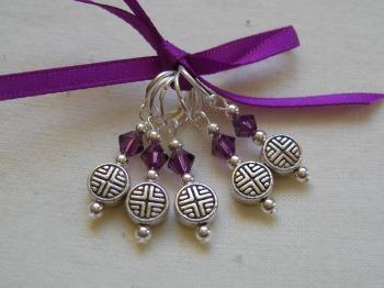 Tibetan Silver Celtic Flat Disc