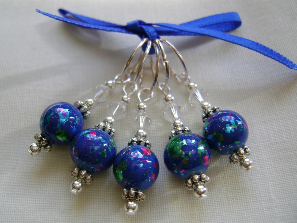 Blue Splatterglass