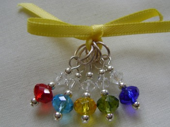 Rainbow Rondelle - small