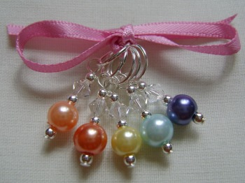 Citrus Bowl Stitch Markers