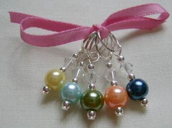 Spring Hues Stitch Markers