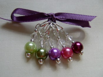 Succulent Hues Stitch Markers