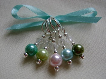 Lily Pond Stitch Markers