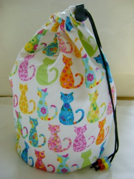 Calico Cats Project bag