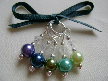 Field Lavender Stitch Markers
