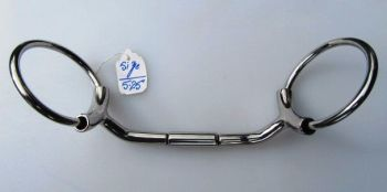 HS Lip Relief Mullen Mouth Snaffle
