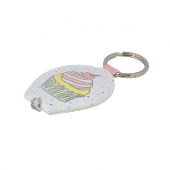 Keyring Key Light  - Ella Bella Rose Cupcake