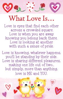 Heart Warmers - Keepsake - What Love Is