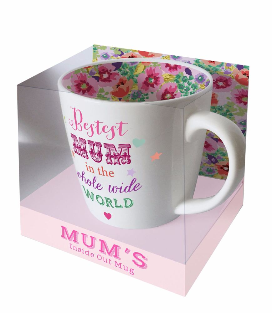 Inside Out Mug - Bestest Mum