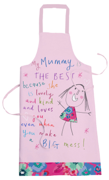 """Home & Dry"" Apron - various deigns, lovely gift idea - My Mummy is the best"