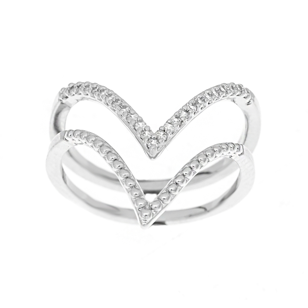 Double Ring Set - size Small (approx size M)