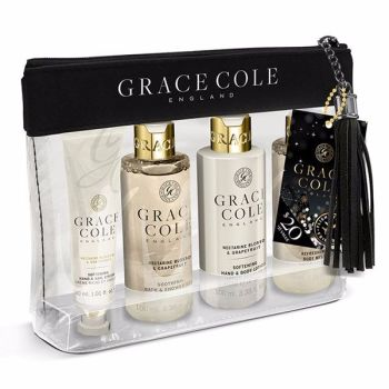Grace & Cole Nectarine & Grapefruit Travel Set