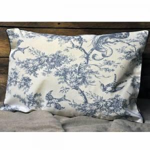 Blue Bird Cushion 40x60cm (with inner)