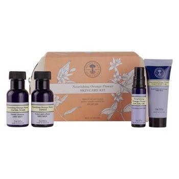Neals Yard Nourishing Orange Flower skincare kit