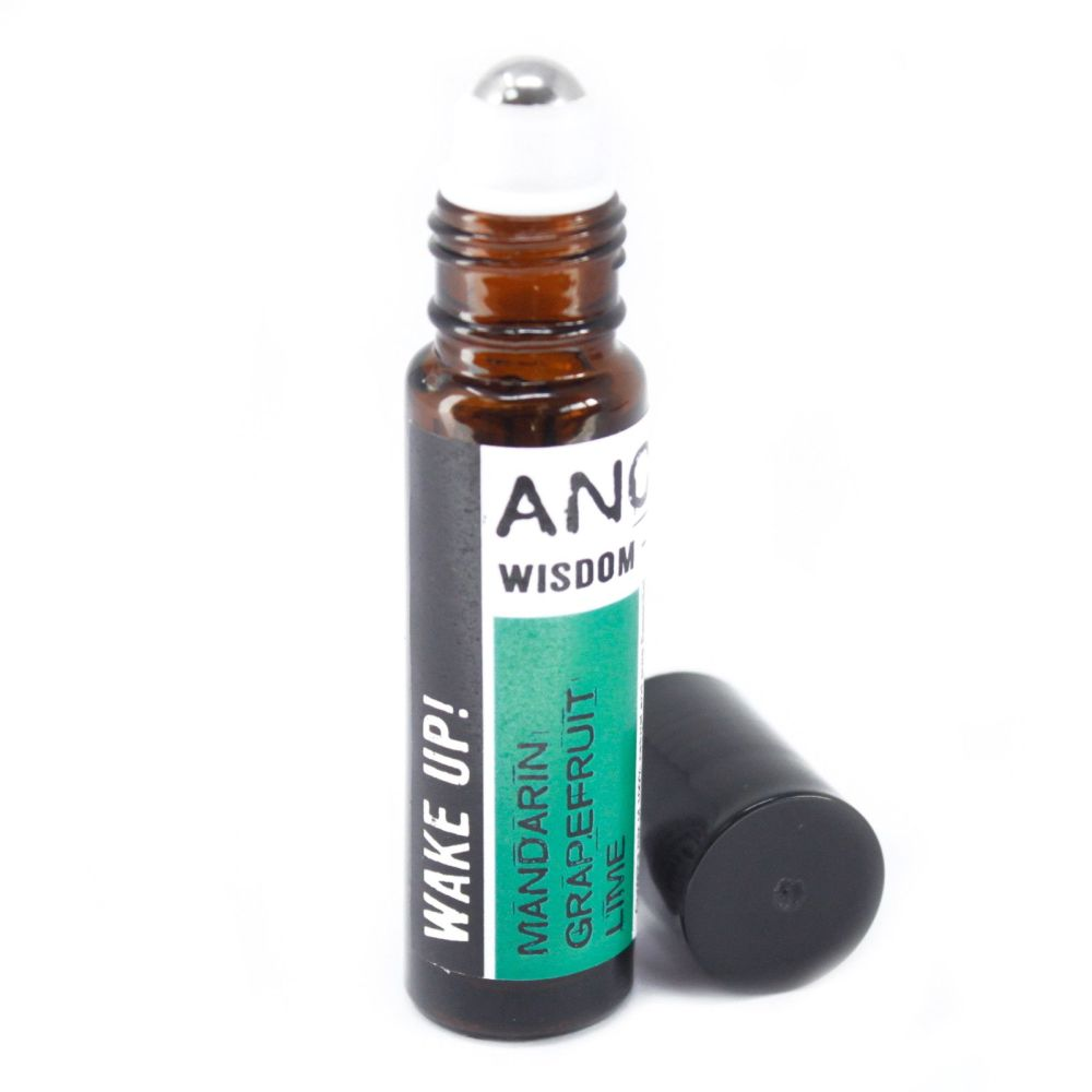 10ml Roll On Essential Oil Blend - Wake Up