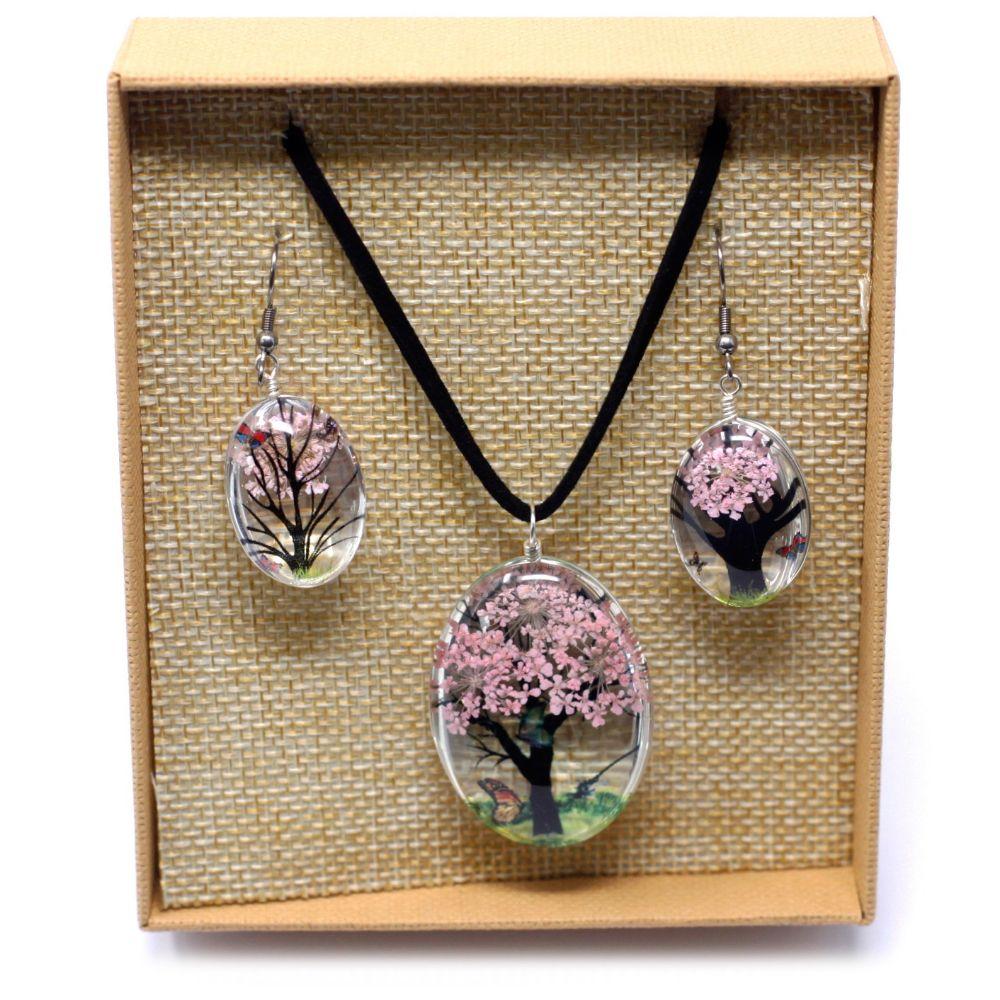 Pressed Flower jewellery