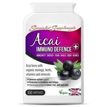 Acai immuno defence (100 capsules)
