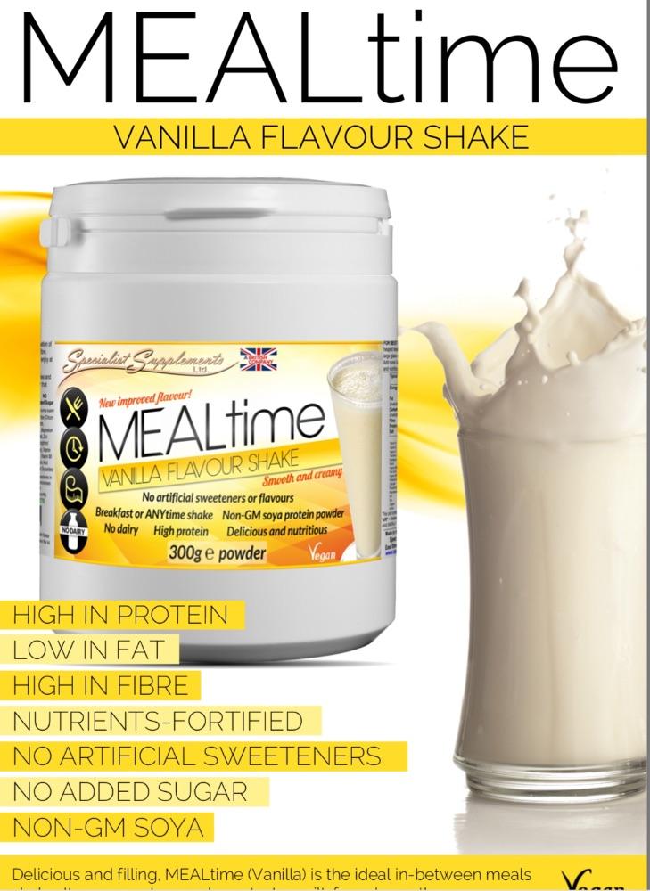 Protein powders & shakes, diet foods