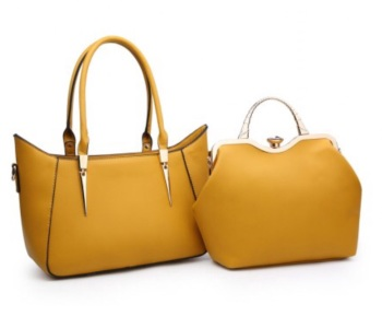 A36446 (2 IN 1) SHOULDER BAG (Yellow)