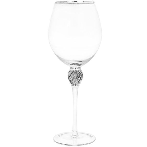 Glitter Ball Silver Wine