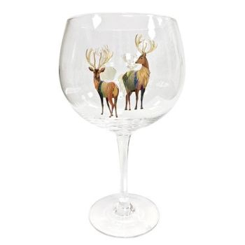 Turnowsky Gin Glass Stag